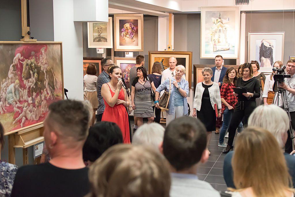 [ZDJĘCIA] Radom - Otwarcie wystawy METAMORFOZA w hołdzie Beksińskiemu