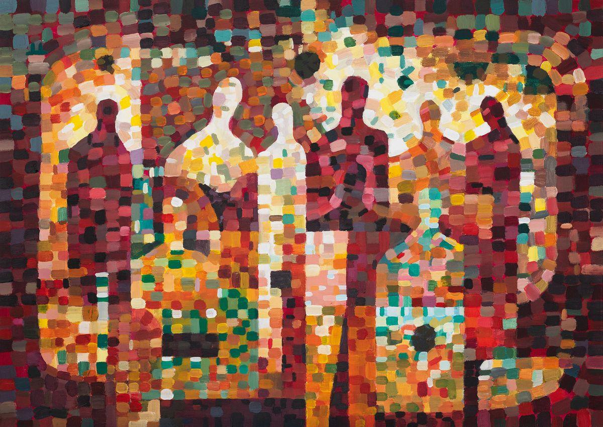 WRAŻENIA I WIZUALIZACJE - Karol Suwała - wystawa malarstwa
