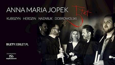 POLECAMY: Anna Maria Jopek w Radomiu! Koncert 03.10.2019r. godz. 19:00