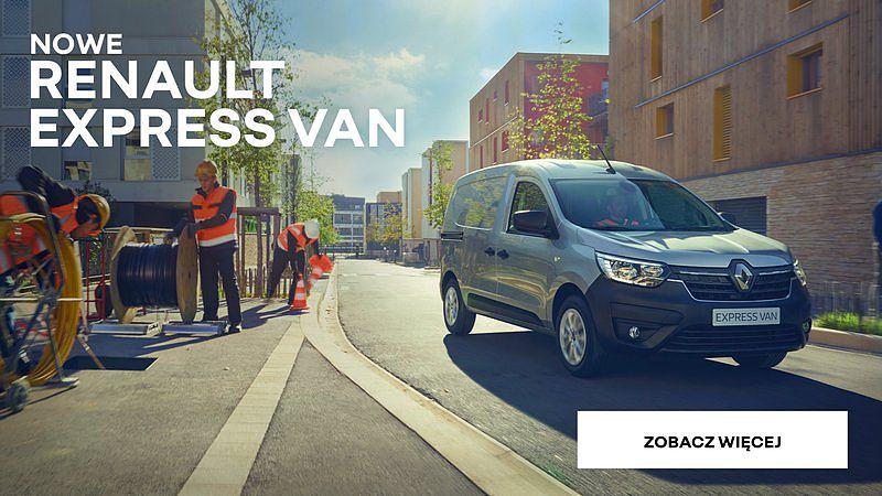 Nowy Renault EXPRESS Van już w radomskim salonie!