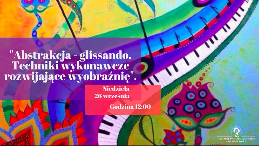 W Klubie Młodych Odkrywców Sztuki - Abstrakcja - glissando. Techniki wykonawcze rozwijające wyobraźnię