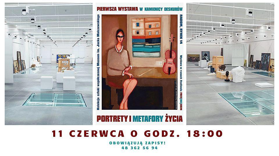 """""""Portrety i metafory życia"""" - otwarcie pierwszej wystawy w Kamienicy Deskurów"""