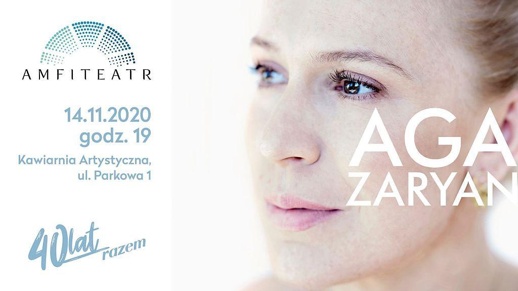 Jazz i Aga Zaryan w radomskim Amfiteatrze już 14 listopada o godz. 19:00