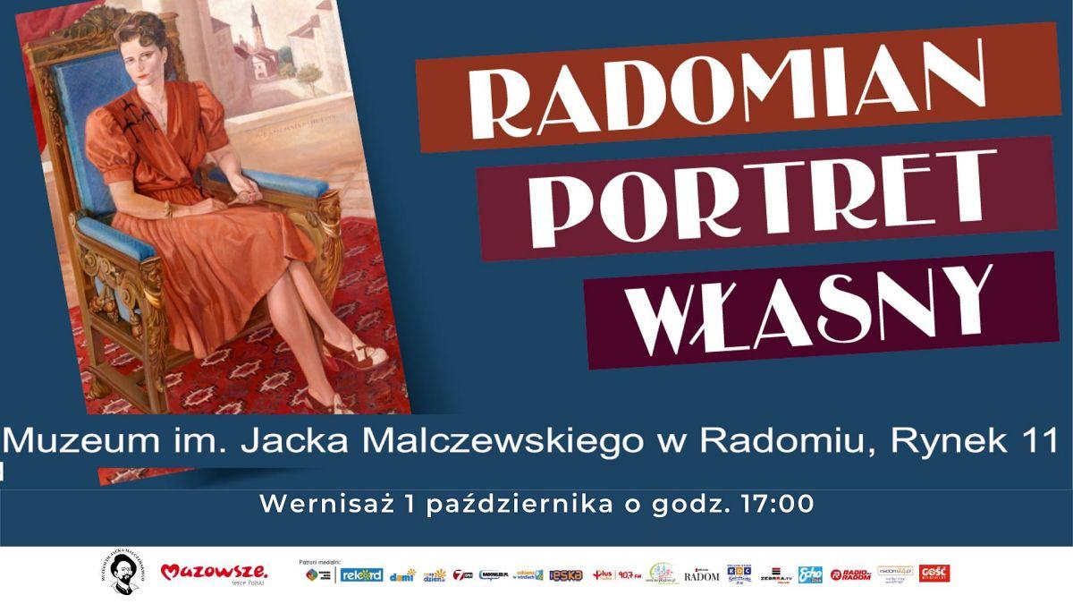 Radomian Portret Własny - wernisaż wystawy już 1 października!