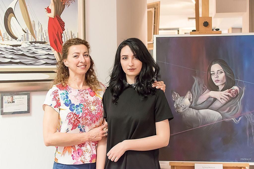 Praca uczennicy PLASTYKA - Sylwii Malmon dołączyła do wystawy sławnych artystów!