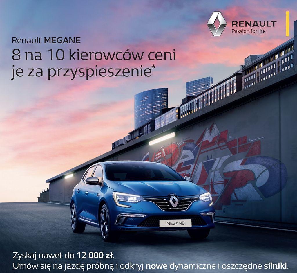 Testy Nowego Renault MEGANE w Radomiu!
